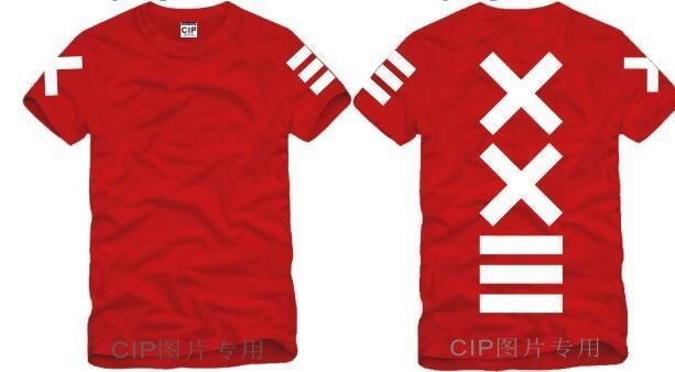 Japanese XXlll street hip hop HBA Tide Printed Mens T Shirt  Fashion 2016 New Short Sleeve O Neck Cotton T-shirt Tee 3