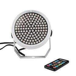 SHEHDS 127WRGB sterowania bezprzewodowego oświetlenie dyskotekowe LED DJ RGB światła etapie DMX 512 LED Strobe Flash lampa Disco Holiday Party Flash światła w Oświetlenie sceniczne od Lampy i oświetlenie na