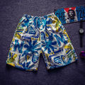 Floral Printed Beach Swiming Shorts For Men Cool Quick Dry Mens Board Shorts Fashion 2016 Summer New Arrival