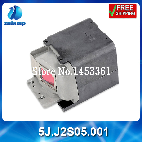 Alibaba aliexpress high quality replacement projector lamp bulb 5J.J2S05.001 for MP615P MP625P