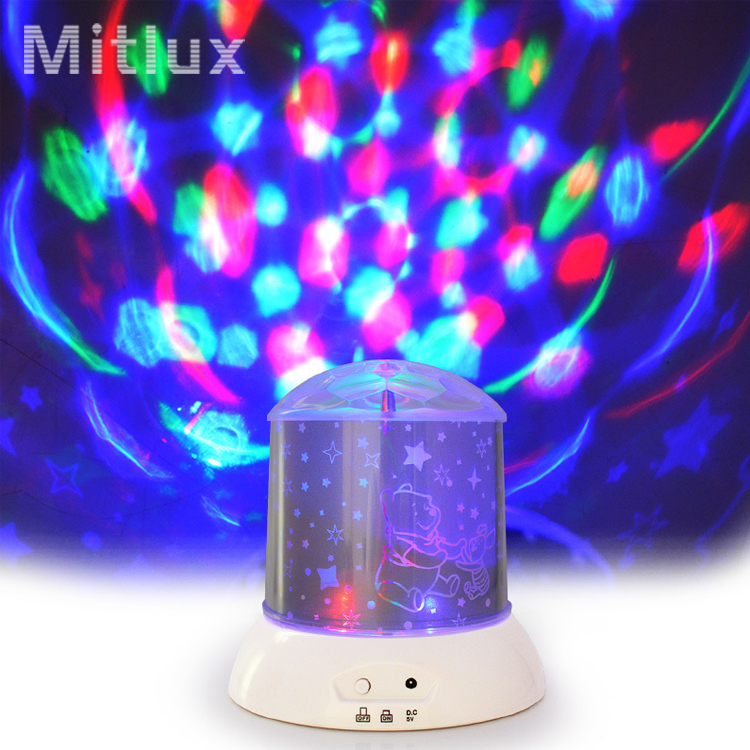 led projection night light