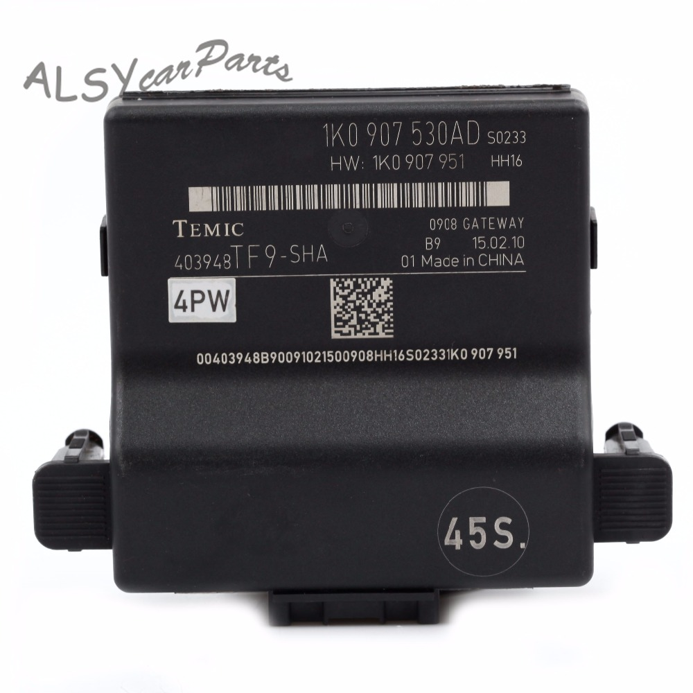 VW EOS Can Bus Gateway Computer Module 1K0 907 530 K