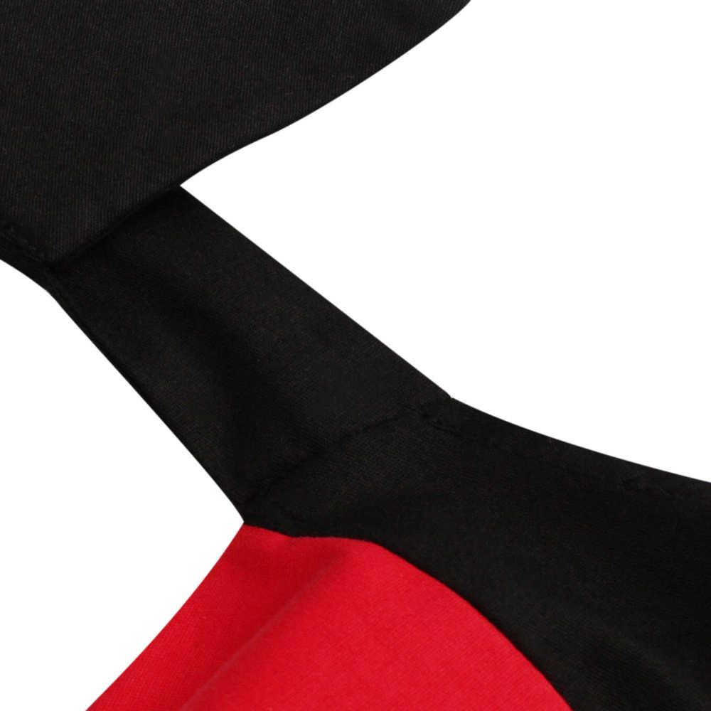 Yocalor Retro 1950 S 60 S Rockabilly Gaun Musim Panas 2019 Seksi Halter Gaun Wanita Gamis Plus Ukuran Pin Pesta gaun Vestidos