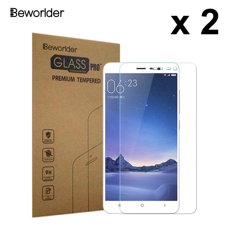 Beworlder Screen Protector Tempered Glass For Xiaomi Redmi Note 3 Pro Prime SE Special Edition 152mm Protective Film Glass Hard