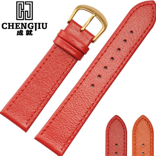 11fc2b83298e Vintage mujeres reloj para Hermes relojes Cuero auténtico Correas Correa  22mm retro pulsera Correa correa de
