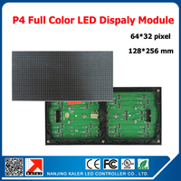 TEEHO Factory price 3in1 SMD LED panel screen unit pcb module led p4 mm 64*32 pixel led module cabinet p4 rgb led module
