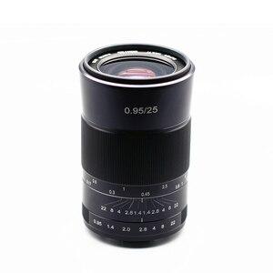 Image 5 - Kaxinda 25 ミリメートルF0.95 標準マニュアルプライムレンズキヤノン、ソニー、富士フイルムオリンパスパナソニックミラーレスカメラ大口径f/0.95