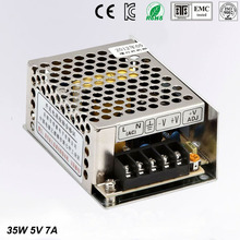 5V 7A MS-35-5 MINI led driver, mini switching power supply,min switch,mini size smps with overload protection
