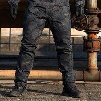 REEBOW Người Đàn Ông CHIẾN THUẬT Quân Sự Ngụy Trang Bionic Săn Quần Thể Thao Ngoài Trời SWAT chống Xước Bắn Súng Airsoft Quần