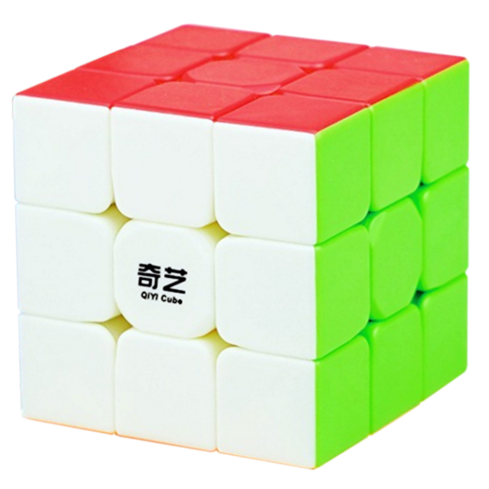 Professional QiYi Warrior W 3 Layers Magic Cube 3*3*3 Speed 3x3x3 Puzzle Cube Toys for Kids Boys Children 5.7 CM