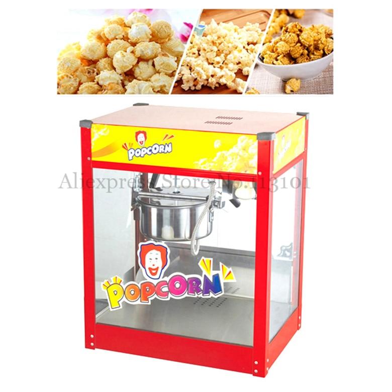 commercial popcorn popcorn maker with flattop 6oz corn popper