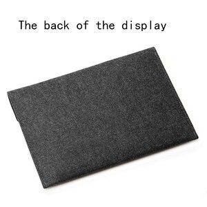 Image 4 - 2019 moda quente sentiu manga saco do portátil 15.6 capa para macbook pro 13 retina 11 12 novo 15 barra de toque para xiao mi ar 13.3 caso