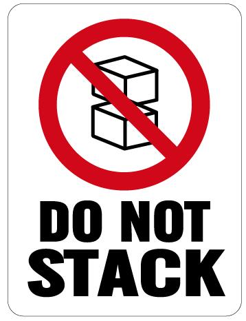 1000pcs/lot 6x8cm DO NOT STACK,adhesive sticker/Shipping