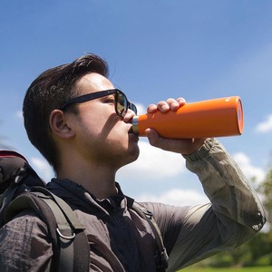 Image 4 - Youpin תרמוס KKF בקבוק ואקום 24h בידוד תרמוסים נירוסטה בקבוק 475ML נסיעות כוס ספורט ספל OLED טמפרטורה כוס