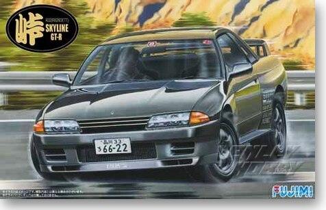 1/24 Nissan R32 Skyline GT-R Car Model 04605 цена