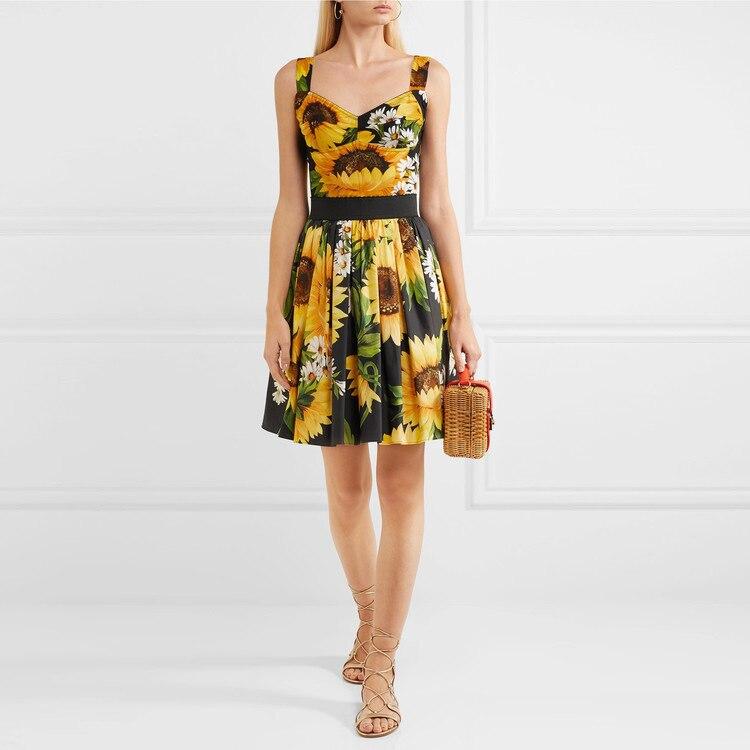 2018 limitée dans Le Temps Zanzea robe grande taille 2019 Printemps Et Nouvelle Imprimé robe sling, Wechat Femmes de Porter, un Pour Amazon Porter.