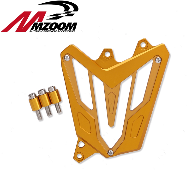 Free shipping Motorcycle Left Side Engine CNC Front Pinion Guard Chain Cover For yamaha mt07 2013 2014 2015 2016 fz07 2015 2016 mgoodoo cnc aluminum motorcycle left engine guard chain protector front sprocket cover panel for yamaha r3 r25 2014 2015 2016