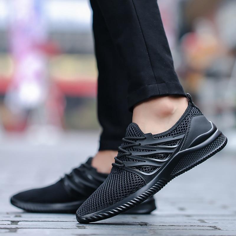 grey Zapatos Hombres Barefoot 45 Malla Deporte Transpirable Ligero Ultra Zapatillas Moda black 39 Más Verano White Calle De Tamaño Hq0wAUH