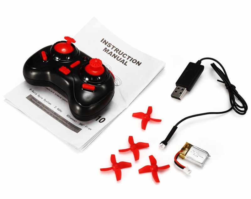 Eachine E010 Mini 2.4G 4CH 6 UN xis 3D Headless Modalità di Funzione di Memoria RC Quadcopter RTF RC Piccolo Regalo regalo Giocattoli Del Capretto