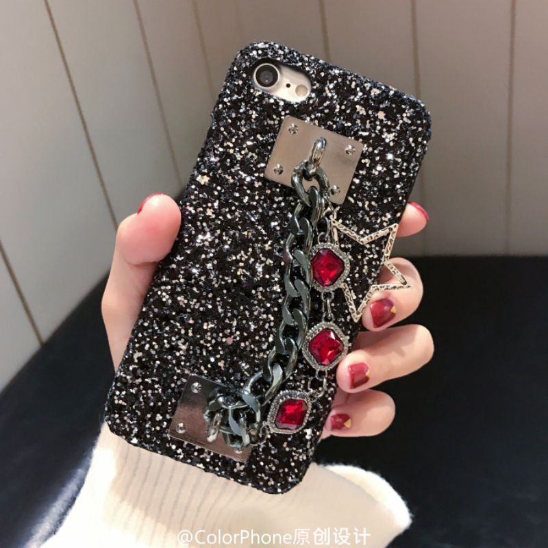 dd51ece9718 TANZ Phone Cases for iPhone 7 Plus 3D Bling Luxury Rhinestone Stars Chain  Girls Cover Back case for iPhone 6 6S 6Splus 7 7plus-in Rhinestone Cases  from ...