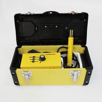 hot stapler repair kit car bodywork hand tools welder gun with staples wave corner flat 220V 110V auto plastic welding bumper welding torch repair kit 220v 50w stapler for bumper plastic w 500x staples for auto and car