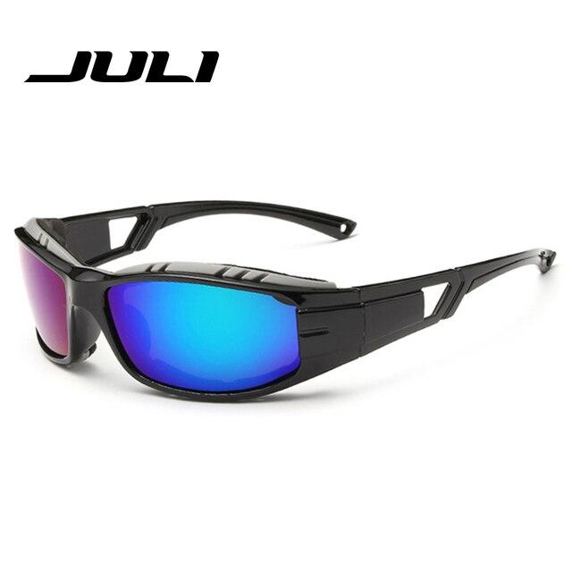 e37b52806f8 JULI Brand Men's Polarized Sunglasses Rectangle Driving Hiking Mens Sun  Glasses For Men Sports Designer Fashion