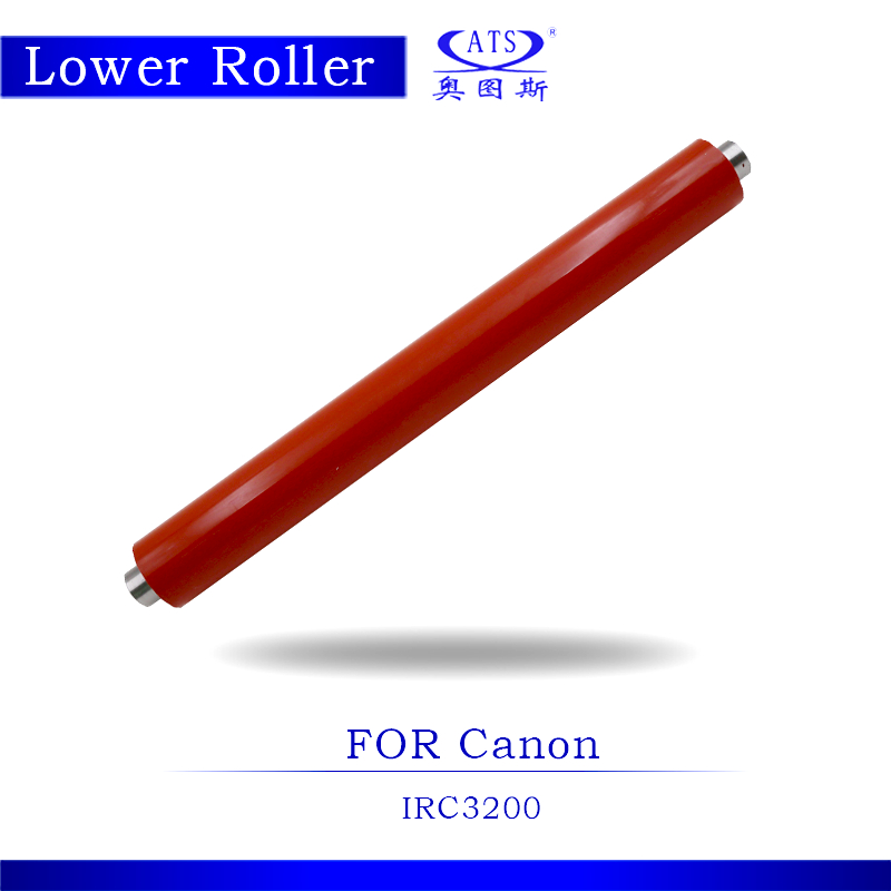 IRC3200 Photocopy Machine Lower Fuser Roller For IRC 3200 Copier Parts Pressure Roller 1pcs photocopy machine lower pressure fuser roller for canon ir2018 copier parts ir 2018