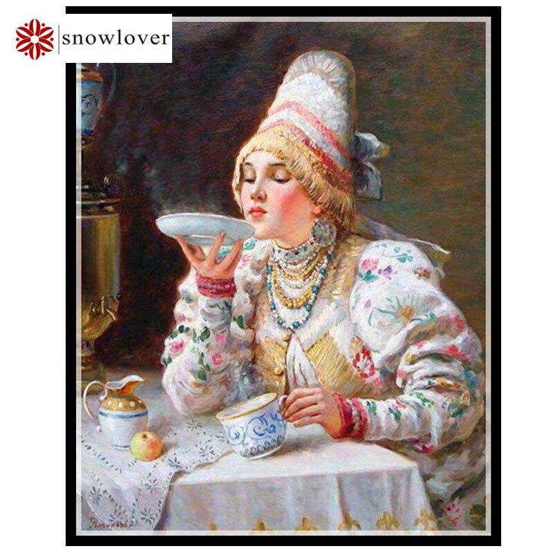 Snowlover, рукоделие, вышивка, портретной живописи, вышивания крестом, 14ct запах дома крестиком, рождественские подарки