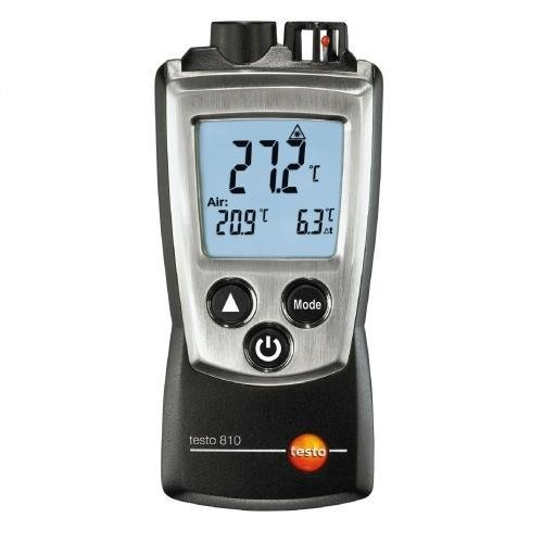 Testo 810 2 Channel Infrared Ntc Air Surface Thermometer