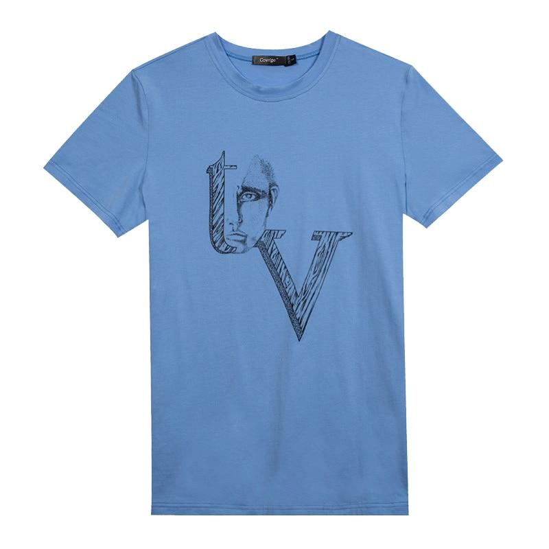 Covrlge T Shirt bărbați moda Plus mărime Jersey T-Shirts Vara - Imbracaminte barbati