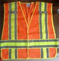 2016 New Style Reflective Safety Vests Reflective Traffic Clothing Adjustable the size by the adhesive tape