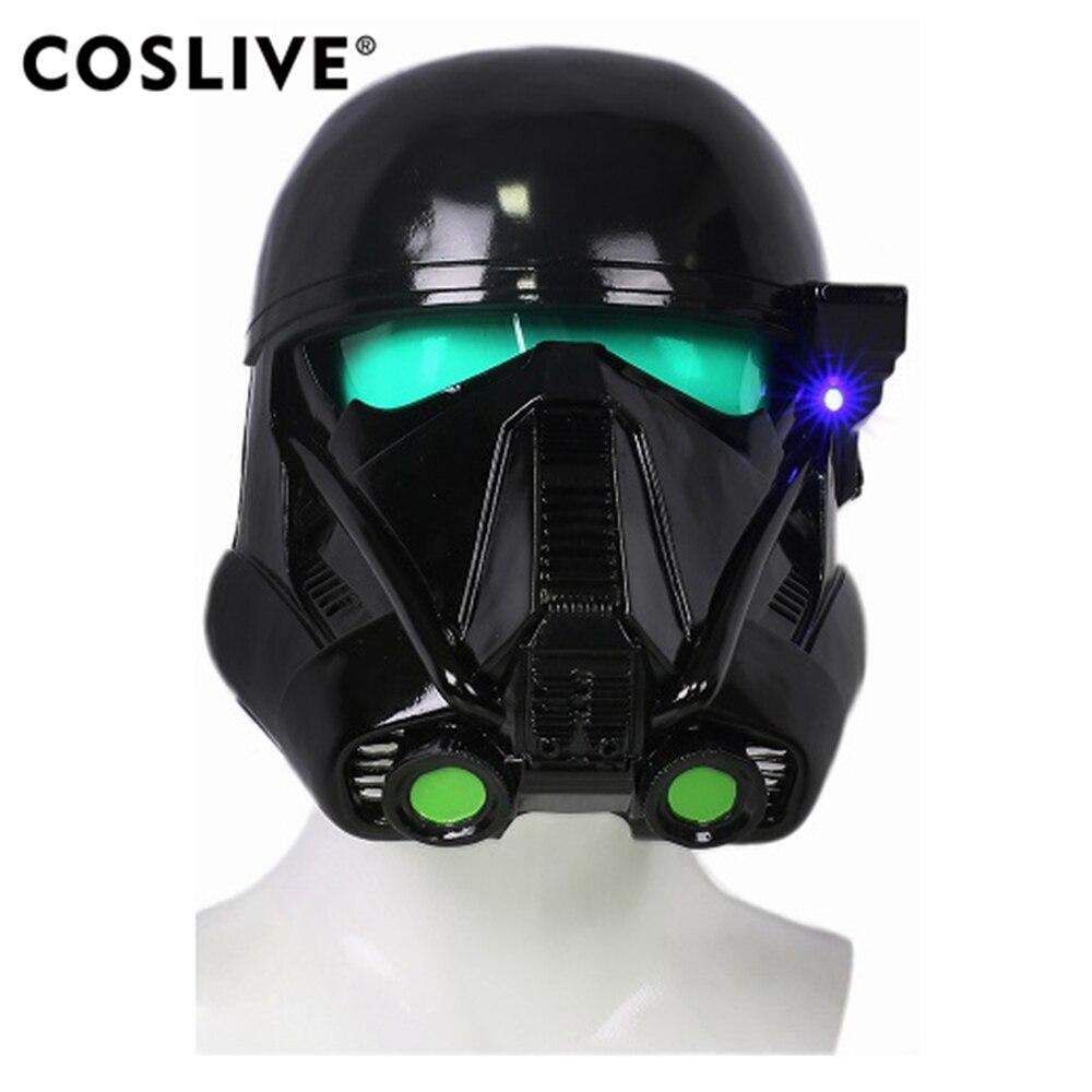 Coslive смерть десант шлем полный маска голова Rogue One A Star Wars Story Косплэй реквизит смерть десант Косплэй костюм реквизит