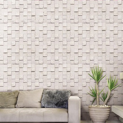 Paper Wall Tiles kitchen bathroom prevent oil mosaic tile self adhesive wallpaper