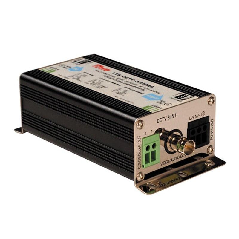 TOWE AP-CCTV-3/24AC Protect The Camera 24AC AC Power, Video / Audio Signals, PTZ Control Circuit Signal Surge Protector