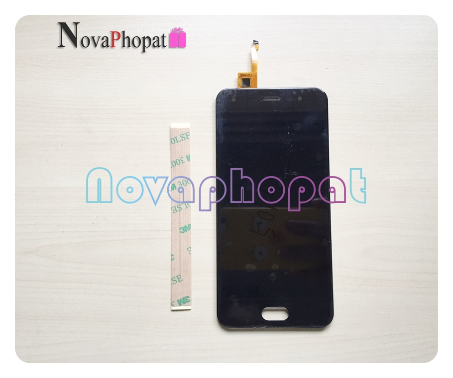 Novaphopat 100% Tested Black LCD Full Assembly For <font><b>BQ</b></font> <font><b>BQ</b></font>-5012L Rich <font><b>BQ</b></font>-<font><b>5012</b></font> <font><b>5012</b></font> LCD Display Screen With Touch Screen Digitizer image