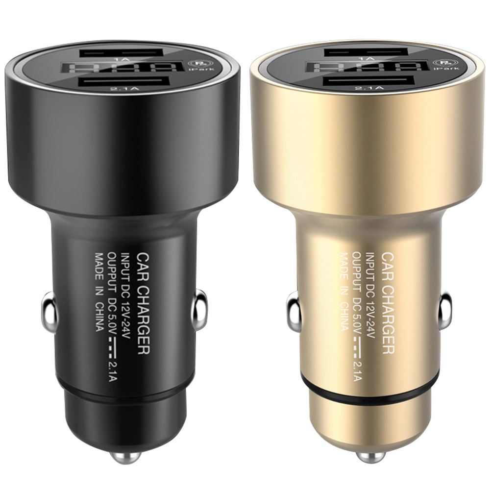 2 In 1 Car GPS Tracker Locator Real Time Tracking Device Dual USB Car Charger Battery Voltage Detection