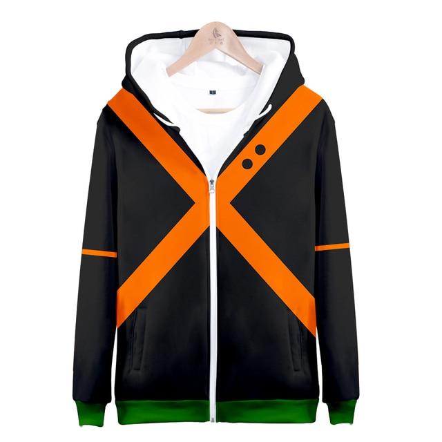 ebbe09aca 3D My Hero Academia Men Women Hoodies cosplay costume College clothing  Jacket Coat