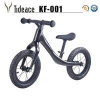 Bicicleta das crianças Crianças 12 polegadas De fibra de Carbono Quadro de carbono Bicicleta equilíbrio Para 2 ~ 6 Anos de Idade da Criança completa de carbono bicicleta para as crianças