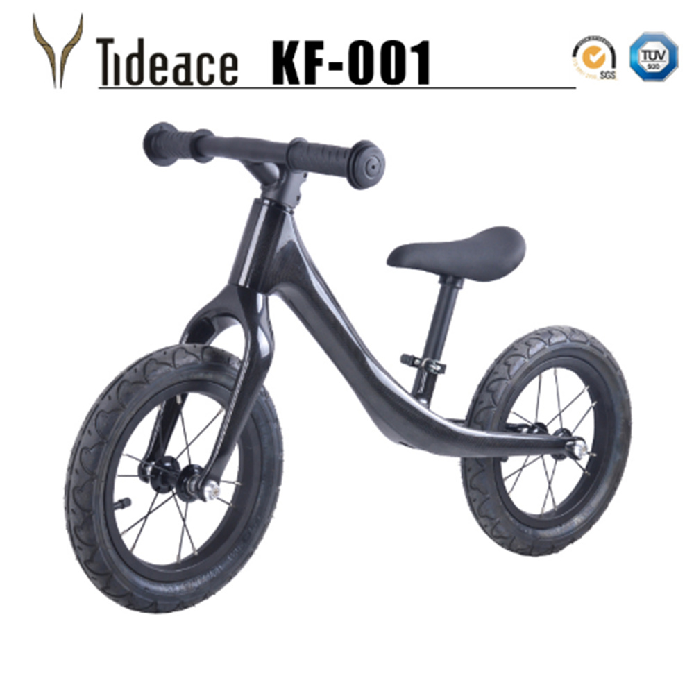 Children Bicycle Carbon Kids 12inch Carbon Fiber Frame Balance Bicycle For 2~6 Years Old Child Carbon Complete Bike For Kids