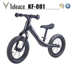 Rower dla dzieci węgla dzieci 12 cal rama z włókna węglowego rower równoważny dla 2 ~ 6 lat dziecko węgla kompletny rower dla dzieci