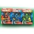 [Bainily]Original box Legoe Ninjago Super hero KAI JAY Lloyd Ninja watch mini Building block Brick Toys for children 1598A