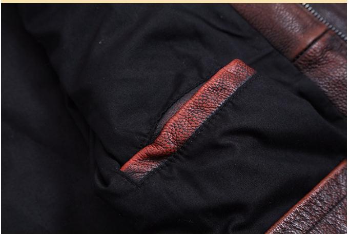HTB1uQI3a3aH3KVjSZFjq6AFWpXa8 Free shipping.Plus Size classic leather jacket,short genuine leather coat,vintage brown mens slim leather coat.business,sales