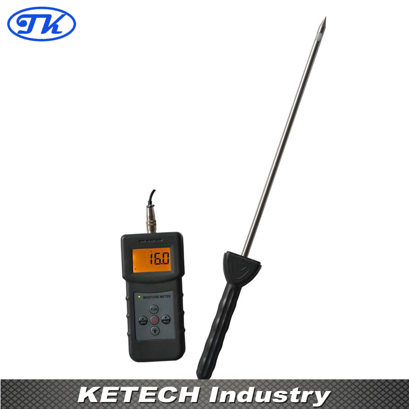 PMS710 Portable Cement Soil Moisture Meter mc7812 induction tobacco moisture meter cotton paper building soil fibre materials moisture meter