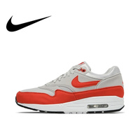 Original Authentic NIKE AIR MAX 1 Womens Running Shoes Sneakers Breathable Sport Outdoor Walking Jogging Comfortable Durable