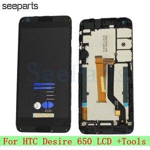 """Image 2 - Dla HTC Desire 650 wyświetlacz LCD ekran dotykowy Digitizer zgromadzenie 5.0 """"telefon komórkowy wymiana części naprawa dla HTC Desire 650 LCD"""