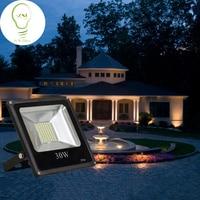 10W 20W 30W 50W 100W 150W 220V Outdoor LED Floodlight Waterproof Warm White Floodlighting Garden Light