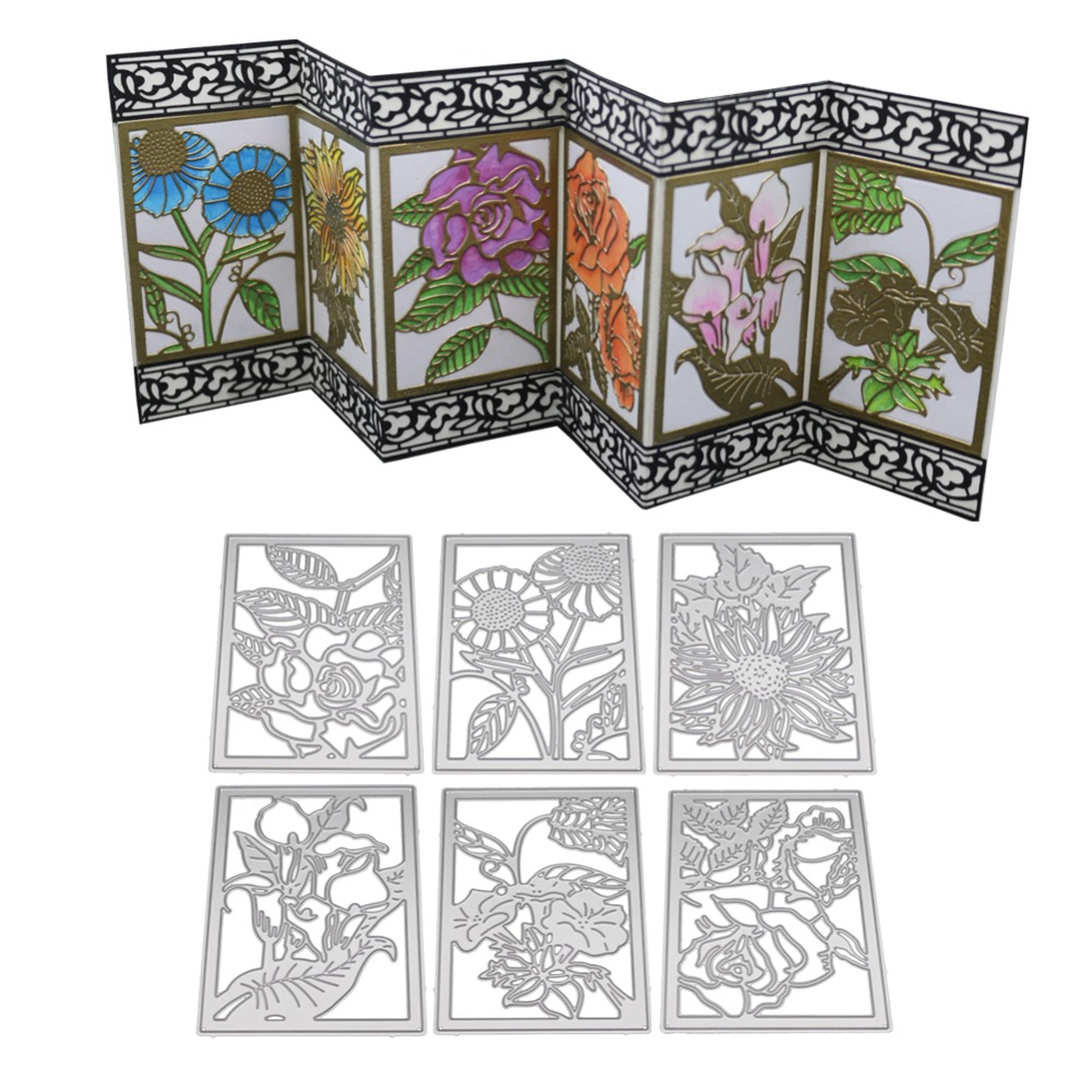 Metal Cutting Dies Clear Stamp Set Embossing Stencil DIY Scrapbooking Card Craft