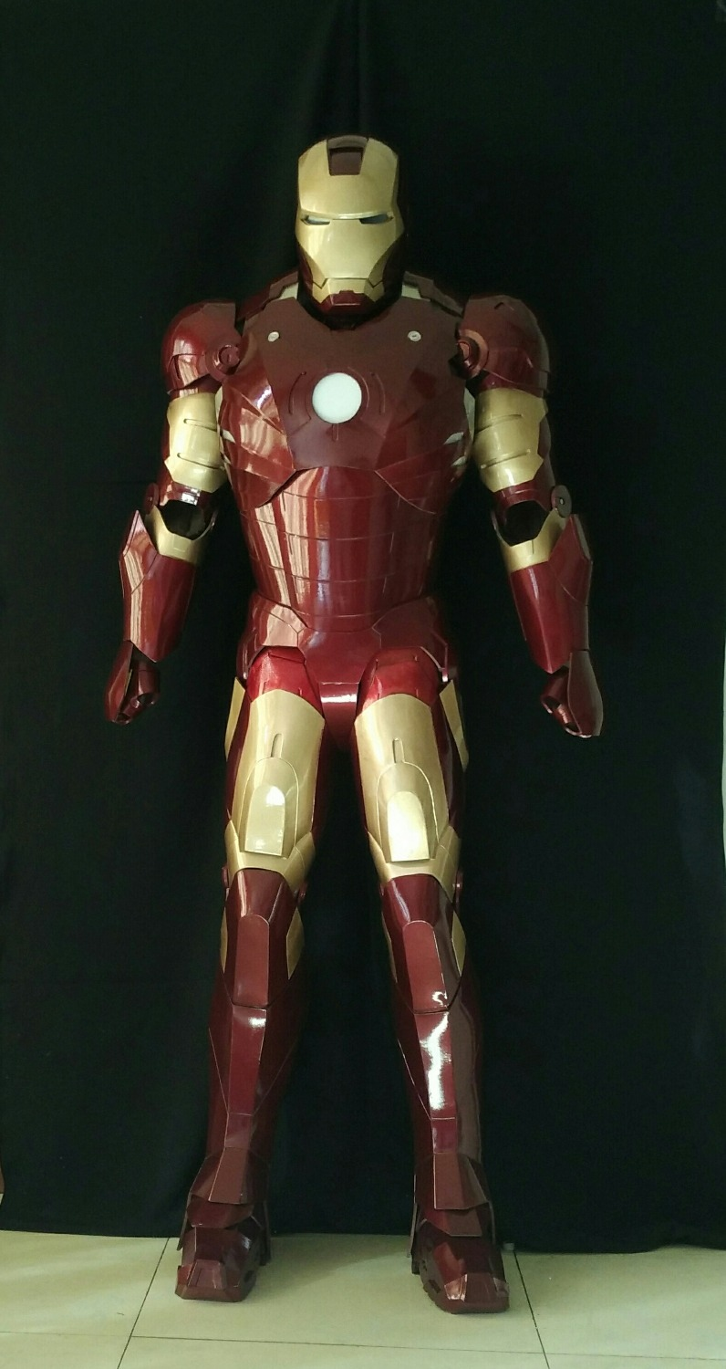 Iron Man Suit MK3 Iron Man Cosplay Costume Made To Measurements