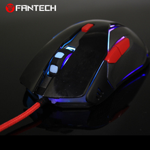 цена на Fantech V5 Original Computer Wired Mouse USB Optical Gaming Mouse Mice Cable 6 Buttons For PC Laptop Mouse Gamer