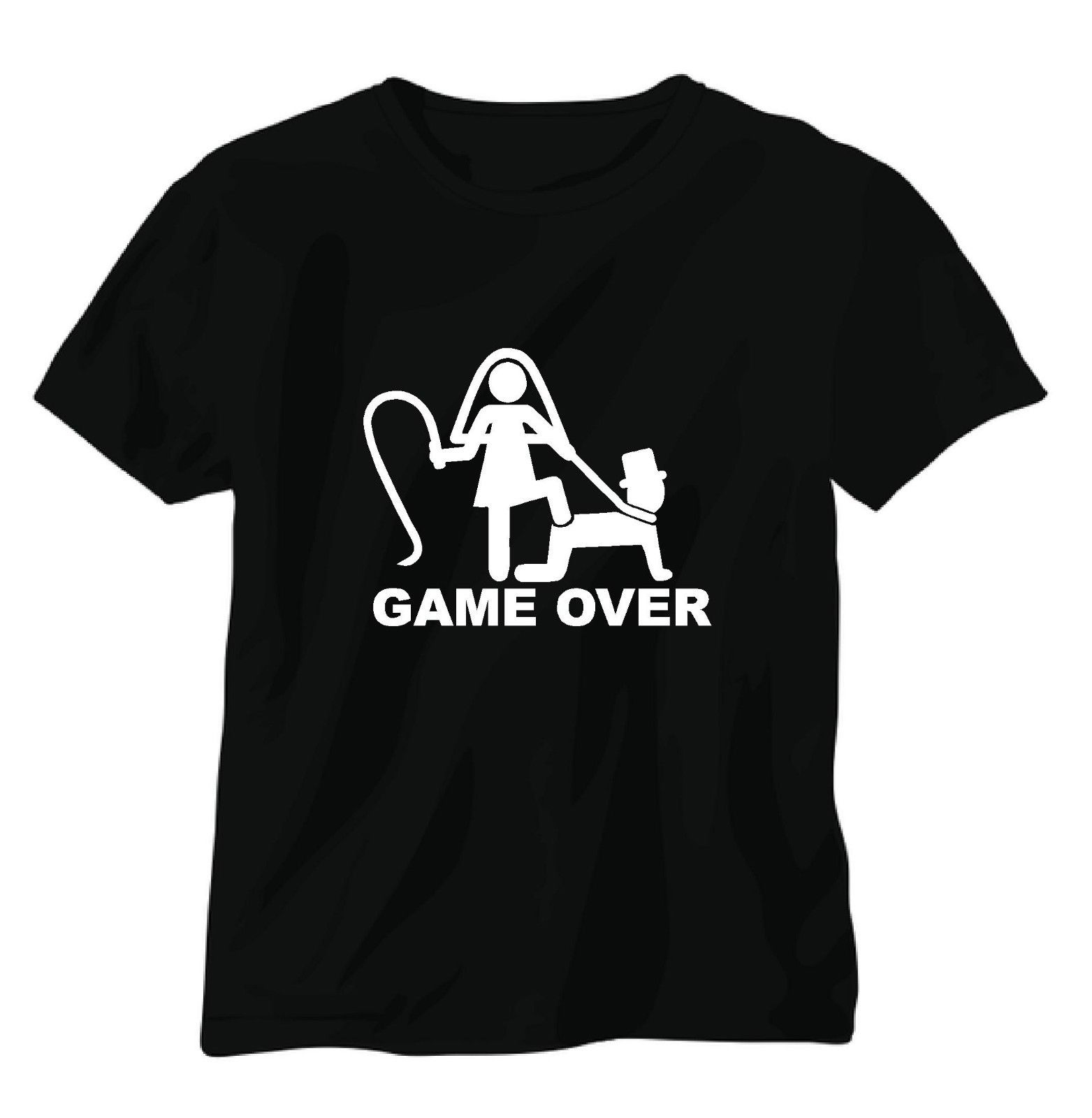 GAME OVER .BRIDE GROOM ,STAG DO . TEE SHIRT, T SHIRT ,WEDDING, PARTY